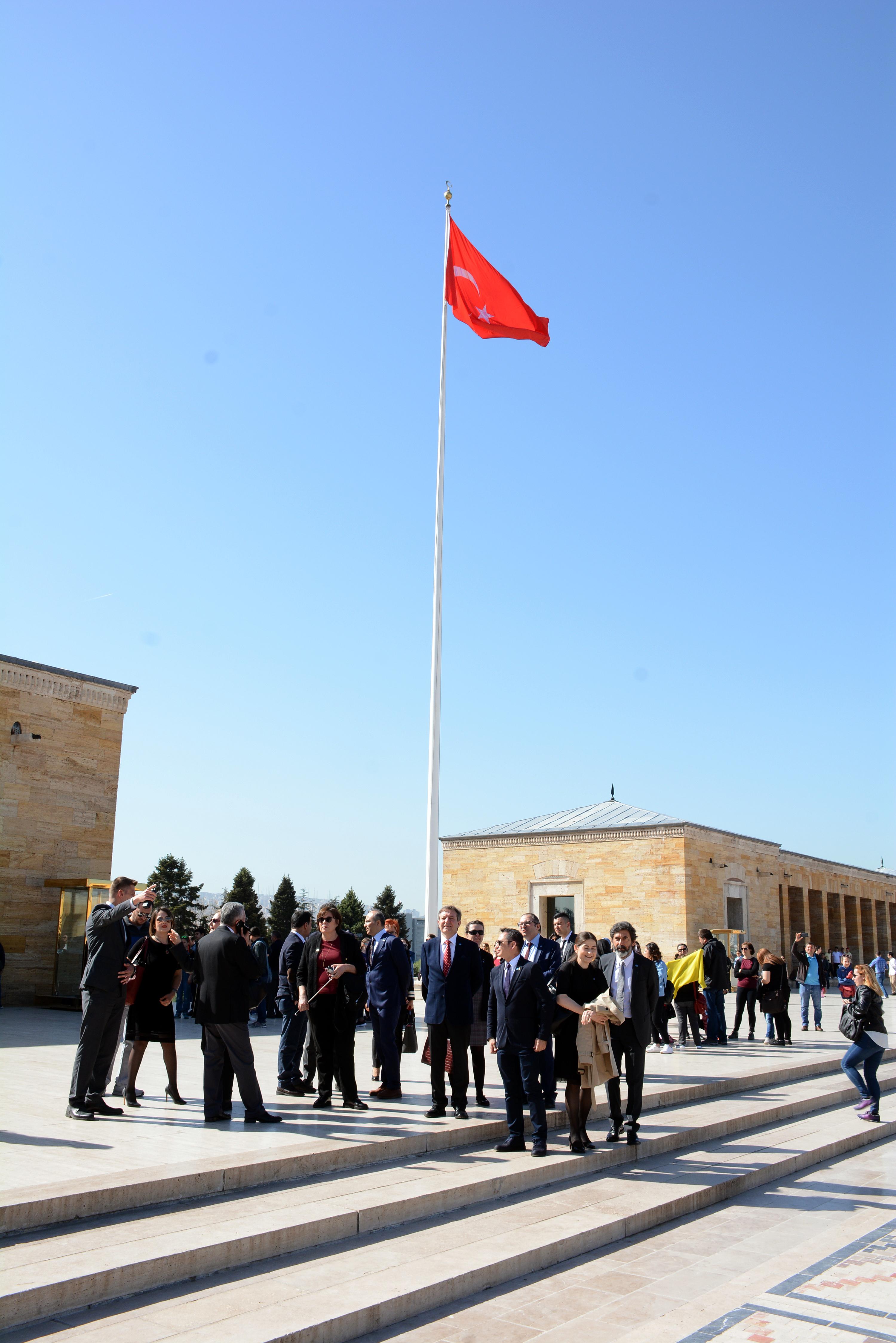 Anýtkabir Ziyareti / 7 Nisan 2018, Cumartesi Günü gerçekleþtirildi.