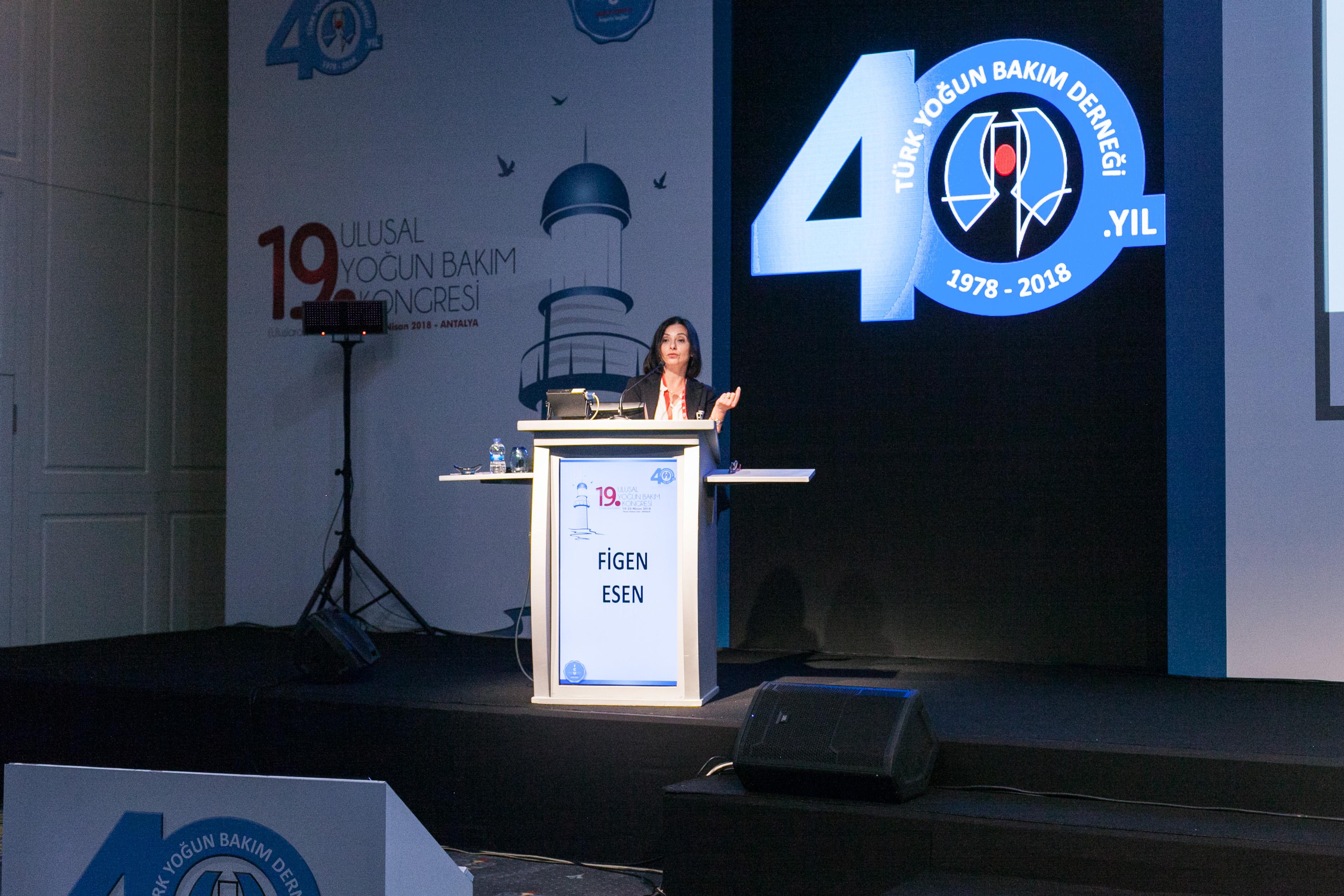 19. Ulusal Yoðun Bakým Kongresi Fotoðraflarý